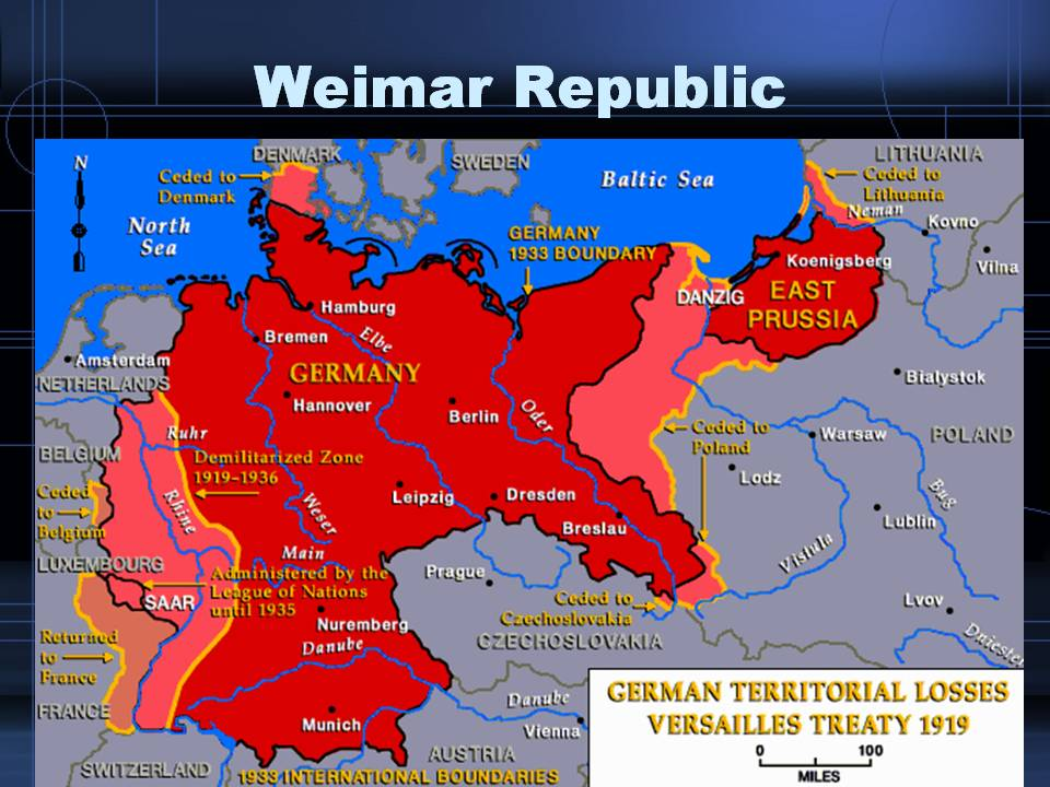 weimar republic problems Study the weimar republic + the rise of the nazi party flashcards from esther   why was the treaty of versailles a problem for the weimar government.